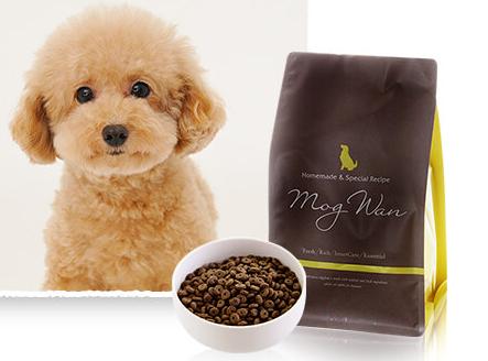 モグワンとアレルギーの愛犬の写真