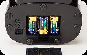 カリカリマシーンspの電池機能の画像
